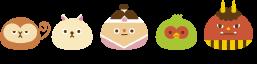 図:キャラクターたち